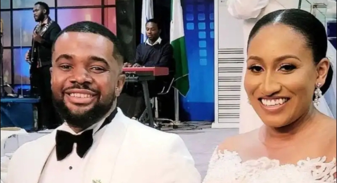 Williams Uchemba and Brunella Oscar: Celebrities turn up for Nigerian actor white wedding